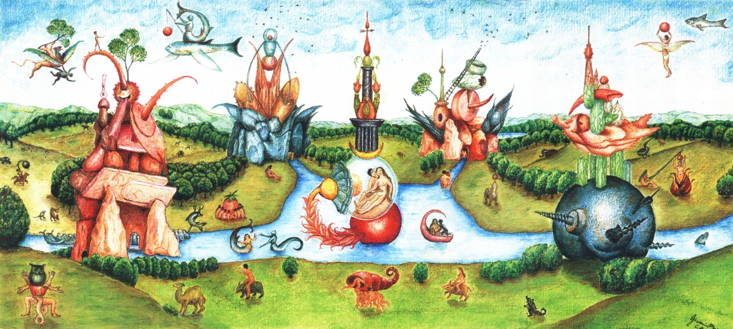 I disegni di giovanni - Il giardino delle delizie bosch ...